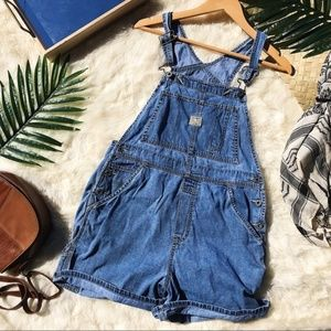 Vintage Denim Overalls from Old Navy